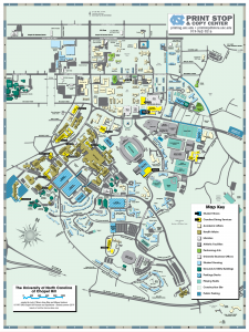 university of north carolina chapel hill campus map Calendars And Maps Auxiliary Services